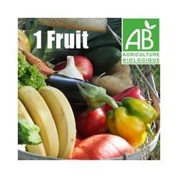 Panier de saison avec 1 fruit